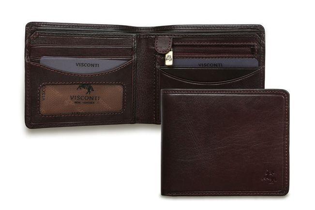 60f5e8adac0 Купить Мужской бумажник кожаный Visconti TSC46 Brown коричневый за 4 100  руб.