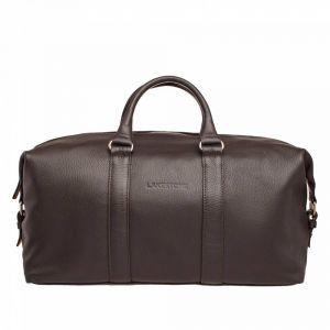 f149b85af664 Дорожно-спортивная сумка Lakestone Pinecroft Brown мужская кожаная  коричневая ...