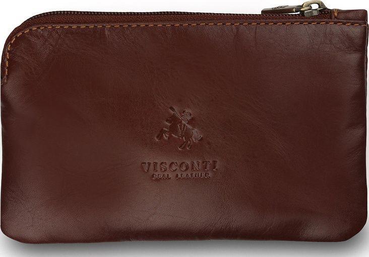 854b0afaa97 Купить Мужская ключница из натуральной кожи Visconti MZ19 Italian Brown  коричневая за 1 600 руб.