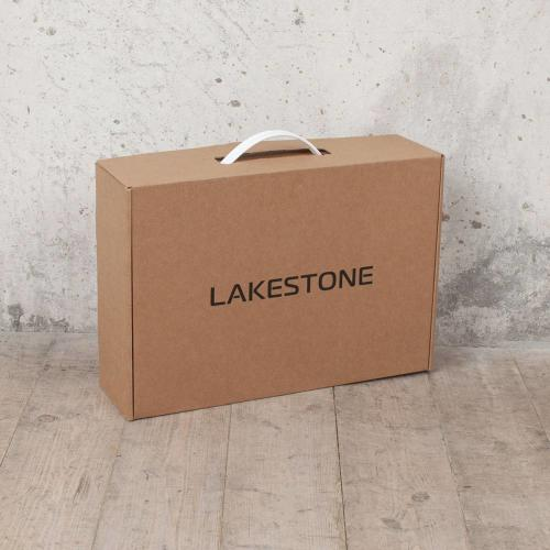 Деловая папка для документов Lakestone Crosby Dark Blue мужская кожаная