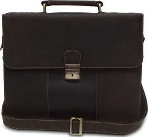 e263b490e307 Кожаный мужской портфель Visconti Apollo 16038 Oil Brown коричневый ...