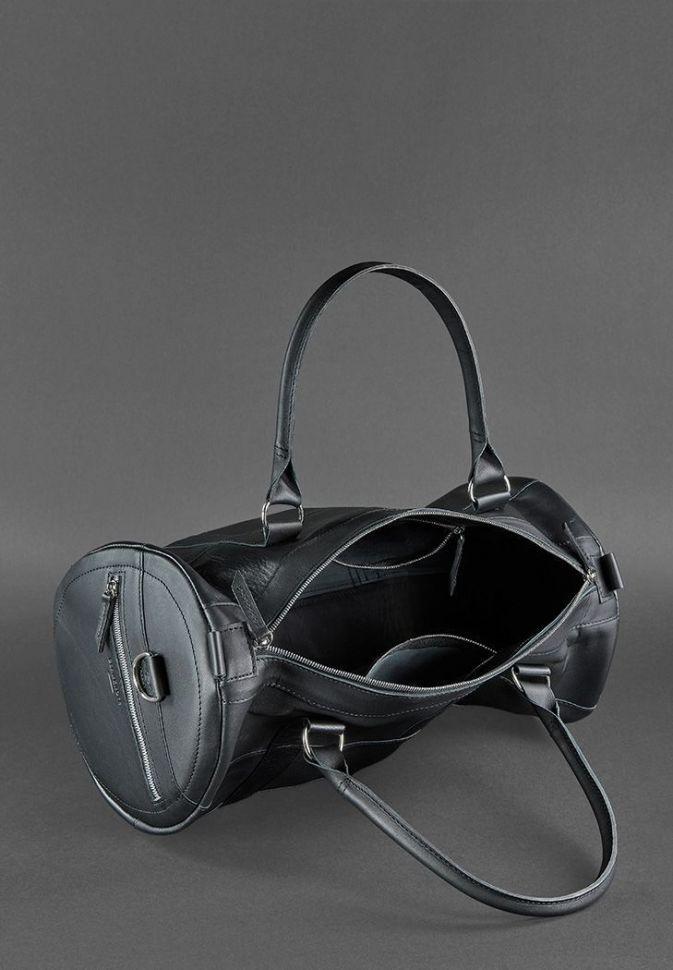 322a9ebe ... Кожаная сумка мужская для спорта и поездок Everiot Bnote Harper графит  BN-BAG-14 ...