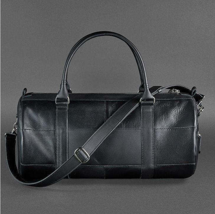 d2d8669f4e64 Кожаная сумка мужская для спорта и поездок Everiot Bnote Harper графит BN- BAG-14 ...